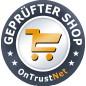 onTrustNet-Shop-Siegel für LR Shop belleso.
