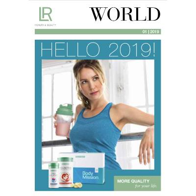 Bild LR World Katalog 2019 und LR Katalog Collection
